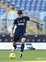 Football, Serie A: S.S. Lazio - Juventus Olympic stadium, Rome, November 8, 2020. <br /> Juventus' Alvaro Morata in action during the Italian Serie A football match between Lazio and Juventus at Olympic stadium in Rome, on November 8, 2020.<br /> UPDATE IMAGES PRESS/Isabella Bonotto