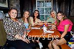 Enjoying the evening in Molly J's on Thursday, l to r: Rachel O'Connor, Muireann Bennett, Emma Hubbert, Grace Murphy and Aisling Moriarty.