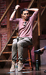 "Anthony Lee Medina from the 'Hamilton' cast during a Q & A before The Rockefeller Foundation and The Gilder Lehrman Institute of American History sponsored High School student #EduHam matinee performance of ""Hamilton"" at the Richard Rodgers Theatre on June 6, 2018 in New York City."