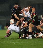 Friday 1st November 2019 | Ulster Rugby vs Zebre Rugby<br /> <br /> Tom O'Toole during the PRO14 Round 5 clash between Ulster Rugby and Zebre Rugby at Kingspan Stadium, Ravenhill Park, Belfast, Northern Ireland. Photo by John Dickson / DICKSONDIGITAL