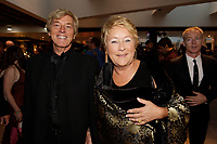 September 15 2013 - Pauline Marois, Quebec Premier and her husband <br />  attend the GEMEAUX Gala.