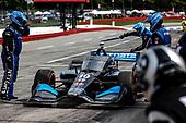 #10: Felix Rosenqvist, Chip Ganassi Racing Honda,
