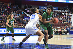 Images from Tulane vs Memphis in the American Athletic Conference Tournament held at the Mohegan Sun Arena.  Tulane downed Memphis in the quarterfinal game, 70-64.