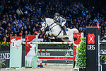 Christian Kukuk of Germany riding Cordess competes in the Masters One DBS during the Longines Masters of Hong Kong at AsiaWorld-Expo on 11 February 2018, in Hong Kong, Hong Kong. Photo by Diego Gonzalez / Power Sport Images