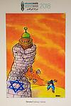 Anti-Israel Cartoon Exhibit In Metro