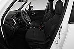 Front seat view of 2021 JEEP Renegade Latitude 5 Door SUV Front Seat  car photos