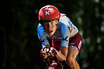 Ilnur Zakarin (RUS) Team Katusha Alpecin in action during Stage 13 of the 2019 Tour de France an individual time trial running 27.2km from Pau to Pau, France. 19th July 2019.<br /> Picture: ASO/Pauline Ballet | Cyclefile<br /> All photos usage must carry mandatory copyright credit (© Cyclefile | ASO/Pauline Ballet)