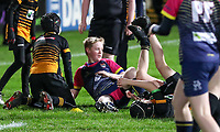 Friday 25th January 2019 | Ulster Rugby vs Benetton<br /> <br /> Halftime mini-rugby during the Guinness PRO14 League clash between Ulster Rugby and Benetton at Kingspan Stadium, Ravenhill Park, Belfast, Northern Ireland. Photo by John Dickson / DICKSONDIGITAL