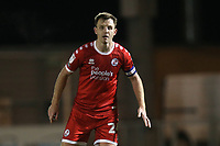 Tony Craig of Crawley Town during Colchester United vs Crawley Town, Sky Bet EFL League 2 Football at the JobServe Community Stadium on 1st December 2020