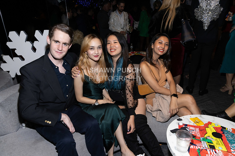 Guests attends the 10th Annual Winter Film Awards International Film Festival Gala on October 2, 2021 at 230 Fift Avenue in New York City.