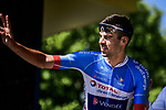 Lilian Calmejane (FRA) Total Direct Energie at sign on before Stage 10 of the 2019 Tour de France running 217.5km from Saint-Flour to Albi, France. 15th July 2019.<br /> Picture: ASO/Pauline Ballet | Cyclefile<br /> All photos usage must carry mandatory copyright credit (© Cyclefile | ASO/Pauline Ballet)