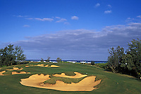The Links at Kuilima golf course, #17. Oahu
