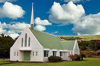 United Methodist Church. Naalehu, Hawaii. The Big Island