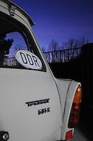 Trabant 601 S - IFA mit DDR Länderkennzeichen.  Foto: aif / Stefan Nöbel-Heise