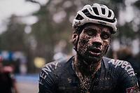 David van der Poels (NED/Alpecin-Fenix) muddy post race face<br /> <br /> Men's Race at the X2O Herentals Cross 2020 (BEL)<br /> <br /> ©kramon