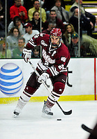 24 November 2009: University of Massachusetts Minuteman defenseman Martin Nolet, a Senior from Quebec City, QC, in action against the University of Vermont Catamounts at Gutterson Fieldhouse in Burlington, Vermont. The Minutemen defeated the Catamounts 6-2. Mandatory Credit: Ed Wolfstein Photo