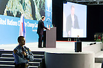 Mr Al Gore delivered a rousing and inspiring speech to the delegates of  COP 14. UNFCCC COP 14 (©Robert vanWaarden ALL RIGHTS RESERVED)