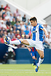 Unai Bustinza of Deportivo Leganes in action during their La Liga match between Deportivo Leganes and FC Barcelona at the Butarque Municipal Stadium on 17 September 2016 in Madrid, Spain. Photo by Diego Gonzalez Souto / Power Sport Images
