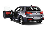 Car images of a 2015 BMW 1 Series M Sport 3 Door Hatchback Doors
