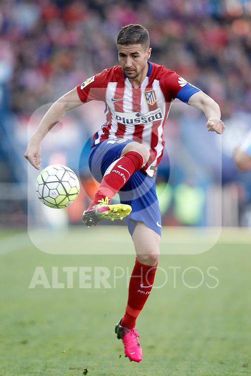 Atletico de Madrid's Gabi Fernandez during La Liga match. April 23,2016. (ALTERPHOTOS/Acero)