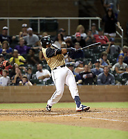 Ronaldo Hernandez plays in the annual Arizona Fall League Fall Stars Game at Salt River Fields on October, 12, 2019 in Scottsdale, Arizona (Bill Mitchell)