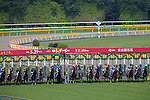 TOKYO,JAPAN-MAY 29: The Japanese Derby starts at Tokyo Racecourse on May 29,2016 in Fuchu,Tokyo,Japan (Photo by Kaz Ishida/Eclipse Sportswire/Getty Images)