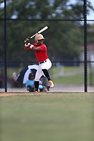 Alexander Aguila (58) of Mater Academy in Hialeah, Florida during the Under Armour Baseball Factory National Showcase, Florida, presented by Baseball Factory on June 12, 2018 the Joe DiMaggio Sports Complex in Clearwater, Florida.  (Nathan Ray/Four Seam Images)
