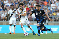 Stanford, CA - Saturday June 30, 2018: Vako prior to a Major League Soccer (MLS) match between the San Jose Earthquakes and the LA Galaxy at Stanford Stadium.