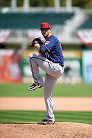 Minnesota Twins pitcher Jake Reed (79) during a Spring Training practice on March 1, 2016 at Hammond Stadium in Fort Myers, Florida.  (Mike Janes/Four Seam Images)