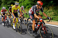 2nd July 2021; Le Creusot, France;  VAN DER POEL Mathieu (NED) of ALPECIN - FENIX and GILBERT Philippe (BEL) of LOTTO SOUDAL during stage 7 of the 108th edition of the 2021 Tour de France cycling race, a stage of 249,1 kms between Vierzon and Le Creusot