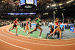 Fantu Magiso wins the women's 800 meter run at the first U.S. Open on January 29, 2012 at Madison Square Garden in New York, New York.  (Bob Mayberger/Eclipse Sportswire)