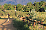 Woman running, Boulder, Colorado, USA. .  John leads private photo tours in Boulder and throughout Colorado. Year-round. .  John offers private photo tours in Denver, Boulder and throughout Colorado. Year-round Colorado photo tours.