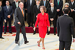 King Juan Carlos and Queen Sofia attends to the National Sports Awards 2015 at El Pardo Palace in Madrid, Spain. January 23, 2017. (ALTERPHOTOS/BorjaB.Hojas)