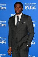 SANTA BARBARA - FEB 1:  Chadwick Boseman at the Santa Barbara International Film Festival - Virtuosos Award at a Arlington Theater on February 1, 2015 in Santa Barbara, CA