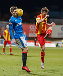 Josh Windass gets a ball in the face from James Penrice