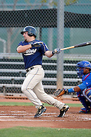 Cody Decker - AZL Padres - 2009 Arizona League.Photo by:  Bill Mitchell/Four Seam Images..
