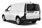 Car pictures of rear three quarter view of 2021 Volkswagen Caddy-Cargo Maxi-Business 4 Door Cargo Van Angular Rear