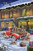 Marcello, CHRISTMAS ANIMALS, WEIHNACHTEN TIERE, NAVIDAD ANIMALES, paintings+++++,ITMCXM2194B,#xa# ,pickup,