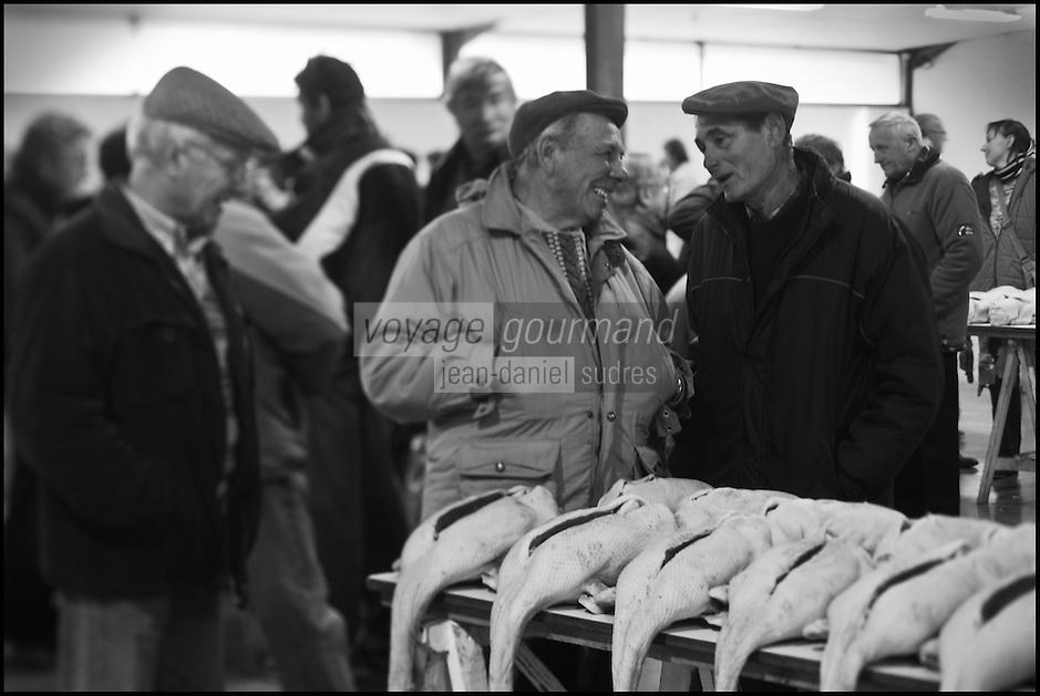 Europe/France/Midi-Pyrénées/32/Gers/Samatan:Le marché au gras