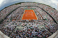 30-05-11, Tennis, France, Paris, Roland Garros , Court Philippe Chatrier (centercourt)