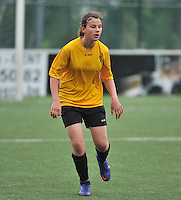 Lierse U16 - Standard de Liege U16 : Heleen De Schrijver.foto DAVID CATRY / Nikonpro.be