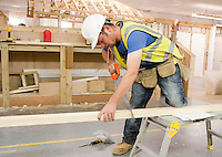 Carpentry training.  Able Skills in Dartford, Kent, runs courses in construction industry skills like, bricklaying, carpentry and tiling.