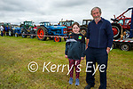 Peter and Clodagh Kennelly from Kilmoyley at the vintage tractor run in Abbeydorney on Sunday,