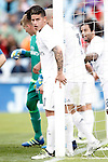 Real Madrid's James Rodriguez during La Liga match. April 16,2016. (ALTERPHOTOS/Acero)