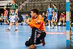 Daniel Rebmann (FRISCH AUF! Goeppingen #12) ; BGV Handball Cup 2020 Finaltag: TVB Stuttgart vs. FRISCH AUF Goeppingen am 13.09.2020 in Stuttgart (PORSCHE Arena), Baden-Wuerttemberg, Deutschland<br /> <br /> Foto © PIX-Sportfotos *** Foto ist honorarpflichtig! *** Auf Anfrage in hoeherer Qualitaet/Aufloesung. Belegexemplar erbeten. Veroeffentlichung ausschliesslich fuer journalistisch-publizistische Zwecke. For editorial use only.