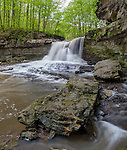 McCormick's Creek State Park, Indiana:<br /> McCormick's Creek falls in early spring