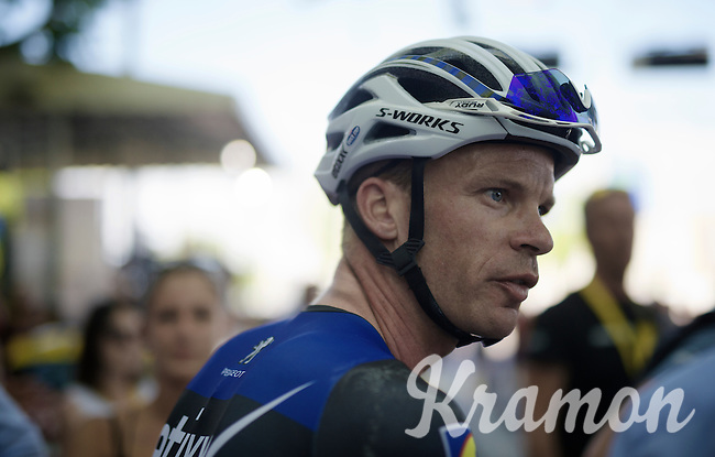 post-race Iljo Keisse (BEL/Etixx-QuickStep)<br /> <br /> stage 16: Morain-en-Montagne to Bern (SUI) / 209km<br /> 103rd Tour de France 2016