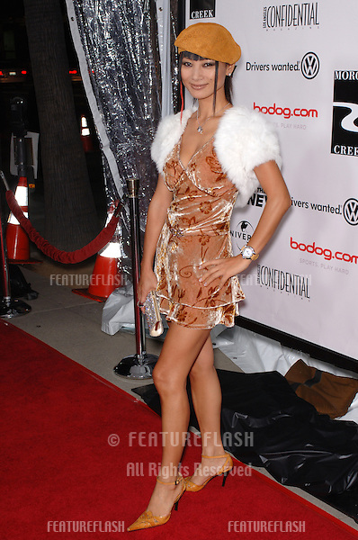 Actress BAI LING at the world premiere, in Beverly Hills, of Two For The Money..September 26, 2005  Beverly Hills, CA..© 2005 Paul Smith / Featureflash
