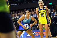 Peta Toeava in action during the ANZ Premiership netball match between Central Pulse and Northern Mystics at TSB Bank Arena in Wellington, New Zealand on Monday, 10 May 2021. Photo: Dave Lintott / lintottphoto.co.nz