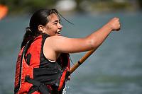Waka Ama – CSW Champs at Porirua Harbour, Porirua, New Zealand on Saturday 13 March  2021.<br /> Photo by Jo Hawes. <br /> www.photowellington.photoshelter.com